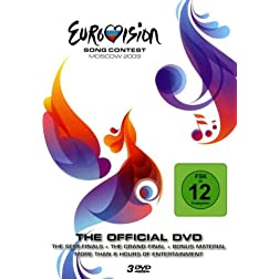 Eurovision Song Contest 2009 (3 DVD Set) (PAL/Region 0)