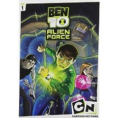 Ben 10 Alien Force: Season One, Vols. 1-3