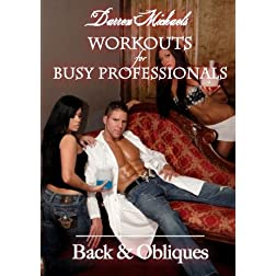 Darren Michaels Workouts for Busy Professionals: Back & Obliques