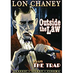Lon Chaney Double Feature: Outside The Law (1921) / Trap (1922) (Silent)