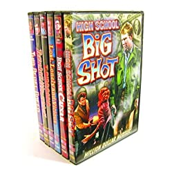Juvenile Delinquents At Large DVD Collection (High School Big Shot / Lost, Lonely And Vicious / Teenage Wolfpack / High School Caesar / T-Bird Gang / This Rebel Breed) (6-DVD)
