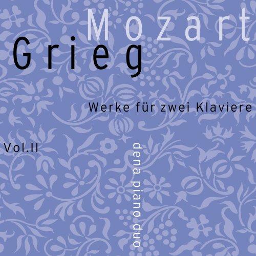Mozart / Grieg: Werke Fur Zwei Klaviere Vol 2 [Blu-ray]