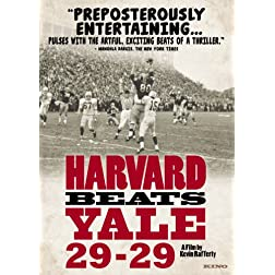 Harvard Beats Yale 29-29