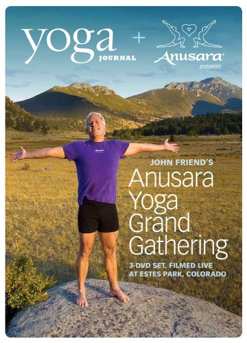 Yoga Journal: John Friend's Anusara Yoga Grand Gathering (3 DVD Set)