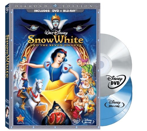 Snow White and the Seven Dwarfs (DVD/Two-Disc Blu-ray + BD Live w/DVD packaging)  [Blu-ray]