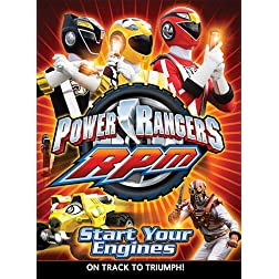Power Rangers RPM, Vol. 1: Start Your Engines