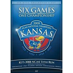 2008 Kansas NCAA Title Run Six Games One Championship