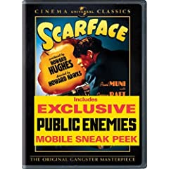 Universal Scarface [1932] [dvd] [w/public Enemies Sneak Peek]