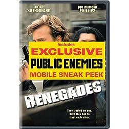 Universal Renegades [dvd] [w/public Enemies Sneak Peek]