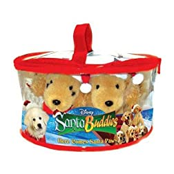 Santa Buddies Gift Set (DVD+ Five Plush Buddies)