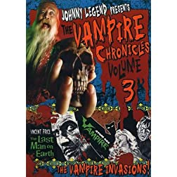 Johnny Legend Presents: Vampire Chronicles, Vol. 3 - The Last Man on Earth/Atom Age Vampire