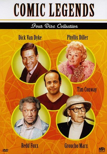 Comic Legends: 4-Disc Collection