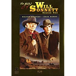 The Guns of Will Sonnett - Season One - 3 DVD Set! 26 Episodes IN COLOR!