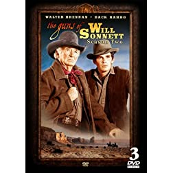 The Guns of Will Sonnett - Season Two - 3 DVD Set - 23 episodes IN COLOR