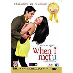 When I Met U - Philippines Filipino Tagalog DVD Movie