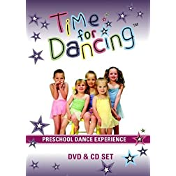 Time For Dancing Preschool Dance Experience DVD + CD Set