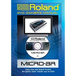 Roland (Boss) Micro-BR DVD Video Tutorial Manual Help