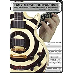 EASY METAL GUITAR DVD - Heavy Metal Guitar Lessons For Beginner through Intermediate
