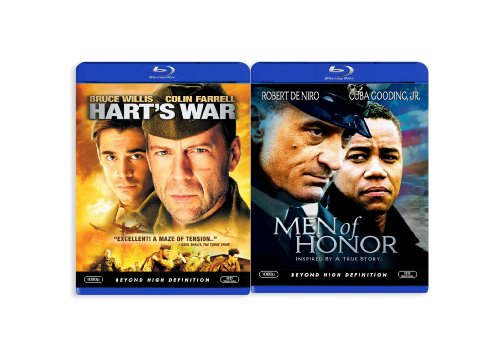 Men of Honor/Hart's War [Blu-ray]