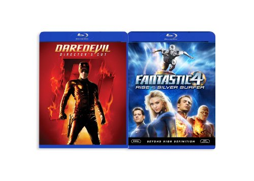 Fantastic 4: Rise of the Silver Surfers/Daredevil [Blu-ray]