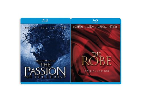 The Passion of the Christ/The Robe [Blu-ray]