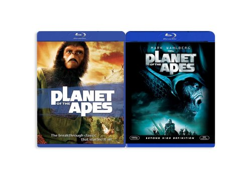 Planet of the Apes (1968)/Planet of the Apes (2001) [Blu-ray]