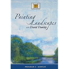 Painting Landscapes With David Dunlop: Program 2- Acrylic
