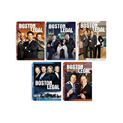Boston Legal: Seasons 1-5