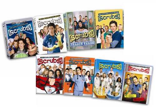 Scrubs: The Complete Seasons 1-8