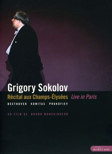 Grigory Sokolov: Live in Paris - Beethoven/Komitas/Prokofiev