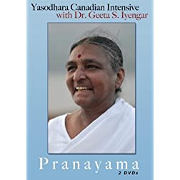 Yasodhara Canadian Intensive with Dr. S. Geeta Iyengar - Pranayama - 2 disc