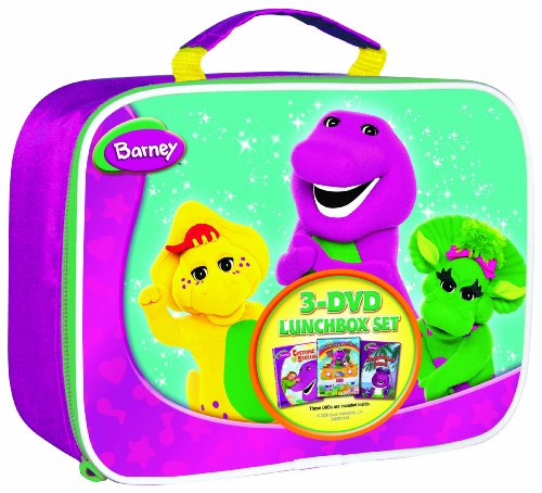 Barney Lunchbox Gift Set (Three-pack)