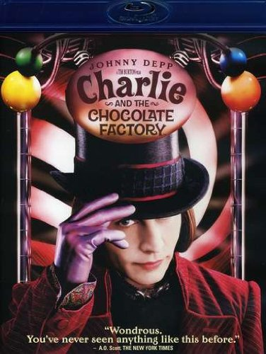 Charlie & the Chocolate Factory (Blu-Ray) [Blu-ray]