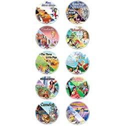 Animated Classics Collection - 10 DVD Set!