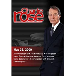 Charlie Rose (May 26, 2009)