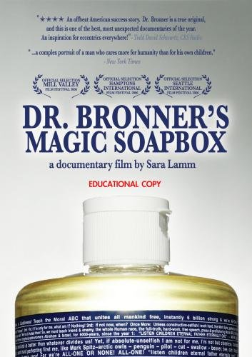 Dr. Bronner's Magic Soapbox (Institutional Use - High Schools/Libraries/Non-Profits)