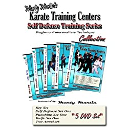 Marty Martin's Self Defense Training Series Beginner/Intermediate DVD Collection
