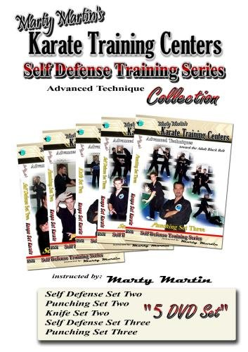Marty Martin's Self Defense Training Series Advanced DVD Collection