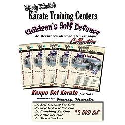 Marty Martin's Children's Self Defense Training Series Beginner/Intermediate DVD Collection