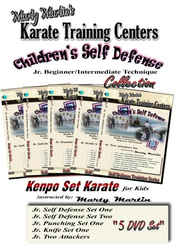 Marty Martin's Children's Self Defense Training Series Beginner/Intermediate DVD Collection