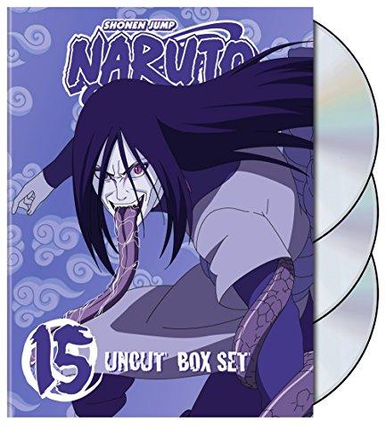 Naruto Uncut Box Set, Vol. 15 (Special Edition)
