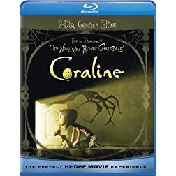 Coraline (Blu-ray/DVD Combo + Digital Copy w/ 3D) [Blu-ray]