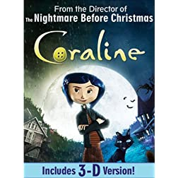 Coraline (Single-Disc Edition w/ 3D)