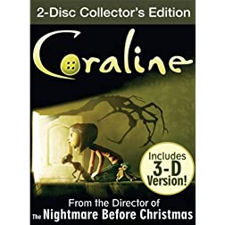 Coraline (Two-Disc Collector's Edition w/ 3D)