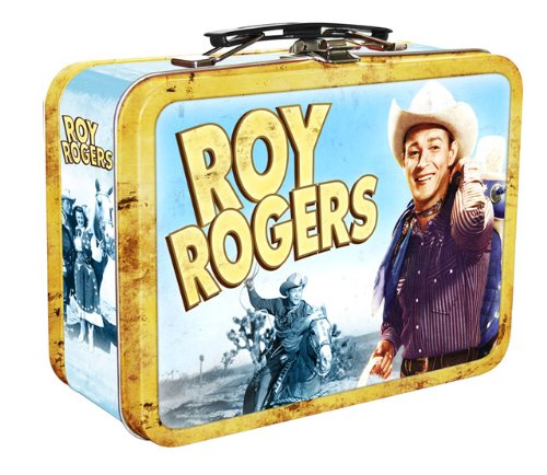 Roy Rogers Collectable Tin with Handle