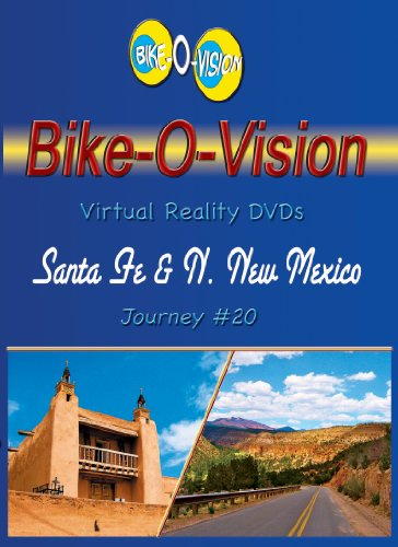 Bike-O-Vision Cycling DVD Journey #20 Santa Fe & Northern New Mexico