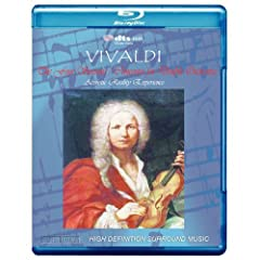 Vivaldi: The Four Seasons, Concertos for Double Orchestra - Acoustic Reality Experience [7.1 DTS-HD Master Audio Disc] with DTS-HD Music Downloads Access [Audiophile Edition][Blu-Ray] [Blu-ray]