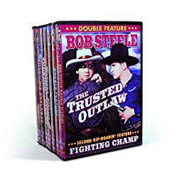 Bob Steele Double Feature Collection Volume 1 (7-DVD)