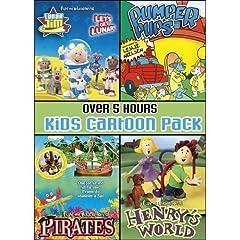 Kids Cartoon Pack Collector's Set