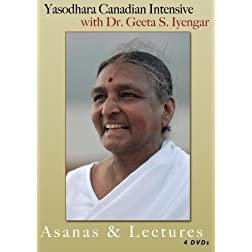 Yasodhara Canadian Intensive with Dr. S. Geeta Iyengar - Asanas & Lectures - 4 disc set